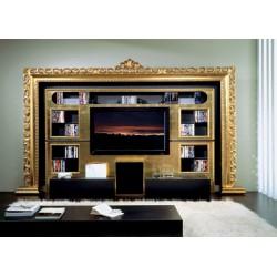 084 Barokk Házimozi fal 07 TV állvány