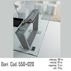 015 Dori 180x80cm Étkezőasztal Cod. 550+020   02 Étkezőasztalok Olasz modern stílus