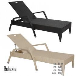 026 Relaxia napozóágy 10 Napozóágyak, nyugágyak Kert, wellness 026