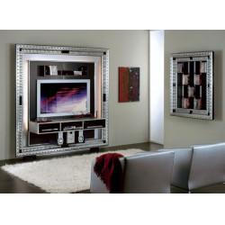 084 Art Deco házimozi keret 07 TV állvány