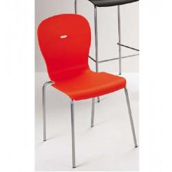 066 Megan szék 03 Műanyag székek Olasz modern stílus
