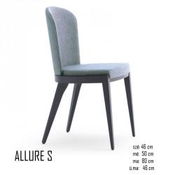 025 Allure S szék 03 Favázas étkezőszékek Olasz modern stílus