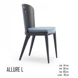 025 Allure L szék 03 Favázas étkezőszékek Olasz modern stílus