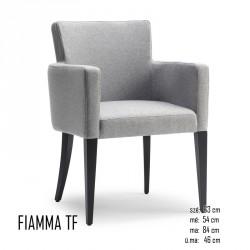 025 Fiamma TF Fotel 05 Favázas karosszékek Olasz modern stílus