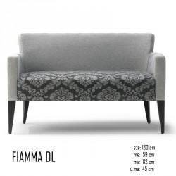 025 Fiamma DL kanapé 06 Retro kanapék Olasz modern stílus