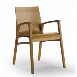 025 Flex P1 szék 05 Favázas karosszékek Olasz modern stílus