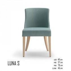 025 Luna S szék 03 Favázas étkezőszékek Olasz modern stílus
