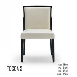 025 Tosca S szék 03 Favázas étkezőszékek Olasz modern stílus