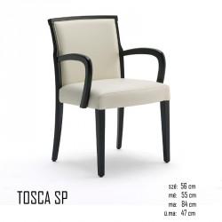 025 Tosca SP karosszék 05 Favázas karosszékek Olasz modern stílus