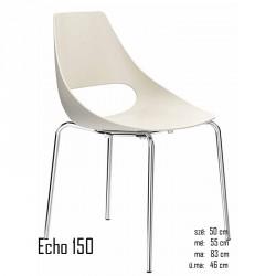 040 Echo 150 szék 03 Műanyag székek Olasz modern stílus