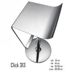040 Click 313 bárszék 04Fa ülőfelület  Olasz modern stílus