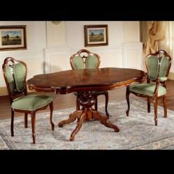 217 911-TI barokk étkezőasztal 02 Asztalok Barokk