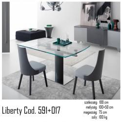 015 Liberty Bővíthető étkezőasztal  02 Bővíthető étkezőasztal Olasz modern stílus