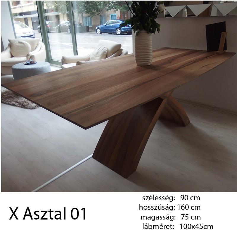 703 X 01 Étkezőasztal Hazai Dió