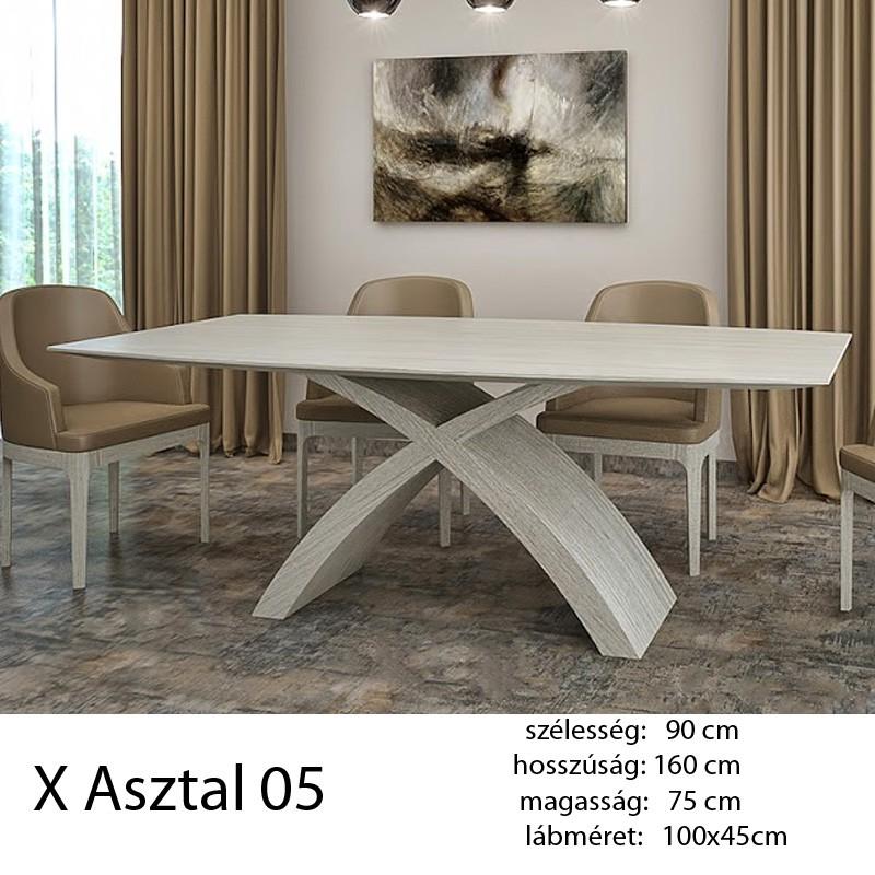 703 X 05 Étkezőasztal Fehér tölgy Alpi 10.82