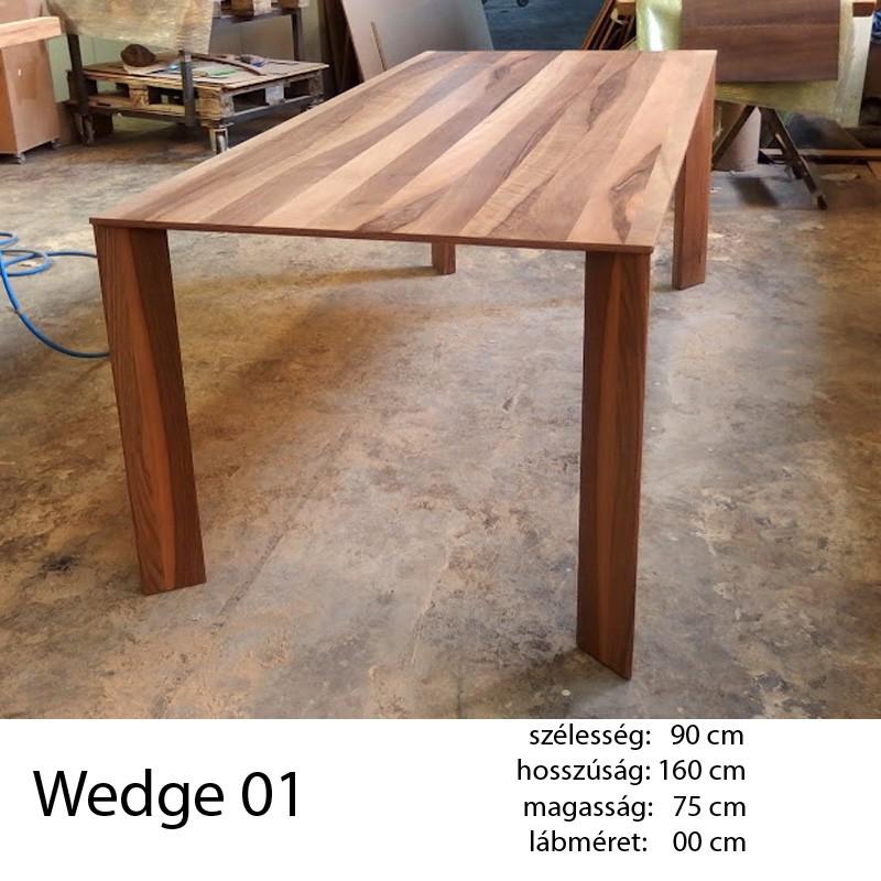 703 Wedge 01 Étkezőasztal Hazai Dió