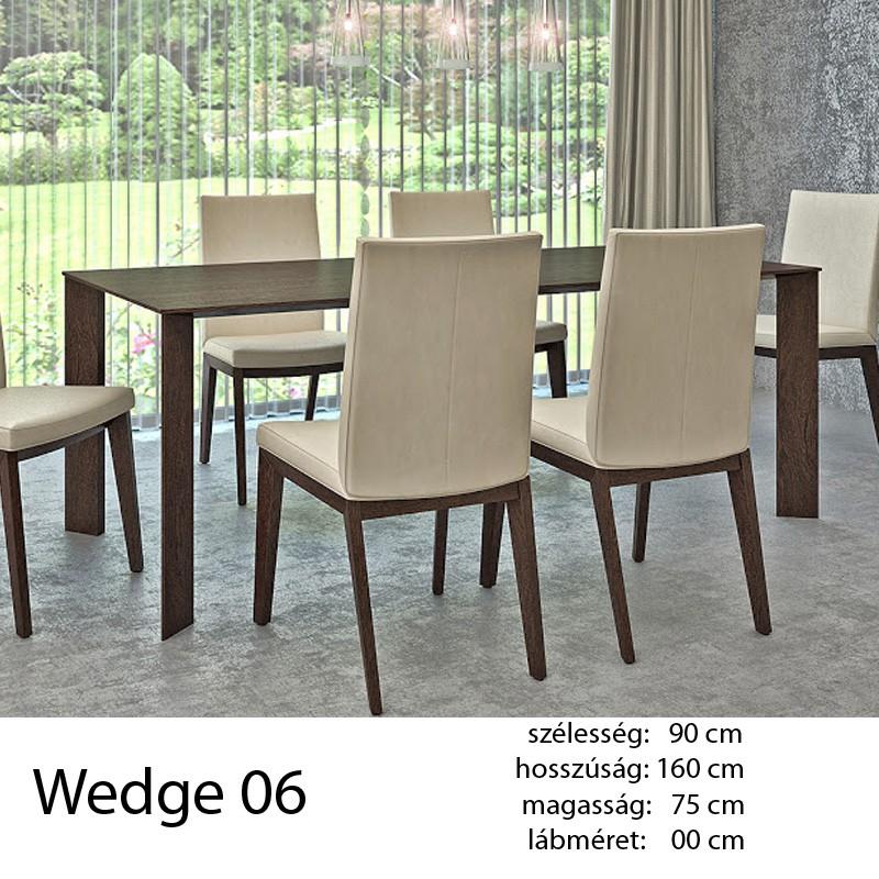 703 Wedge 06 Étkezőasztal Wenge