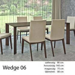703 Wedge 06 Étkezőasztal Wenge 11 HAZAI TERMÉK Hazai termék