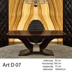 703 Art Deco 07 Étkezőasztal Ammara Ében Alpi 10.42