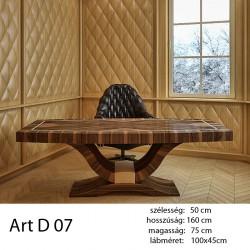 703 Art Deco 07 Étkezőasztal Ammara Ében Alpi 10.42 11 HAZAI TERMÉK Hazai termék