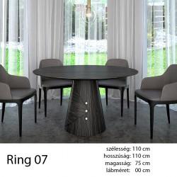 703 Ring 07 Kör Étkezőasztal Ammara Ében Alpi 10.42 11 HAZAI TERMÉK Hazai termék