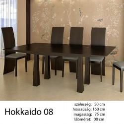 703 Hokkaido 08 Étkezőasztal Füstölt Fekete Tölgy 11 HAZAI TERMÉK Hazai termék