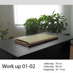 703 Work Up 01-02 Lakkozott nyírfa munkaállomás