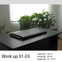 703 Work Up 01-03 Fekete nyírfa munkaállomás