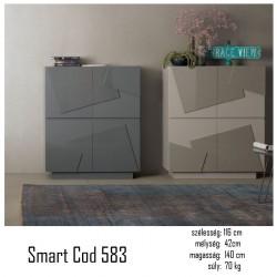 015 Smart szekrény 07 Tárolok Olasz modern stílus