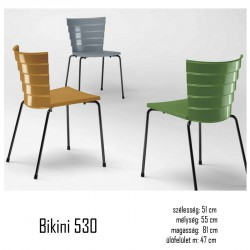 040 Bikini 530 polipropilén szék 03 Műanyag székek Kert, wellness