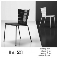 040 Bikini 530 polipropilén szék