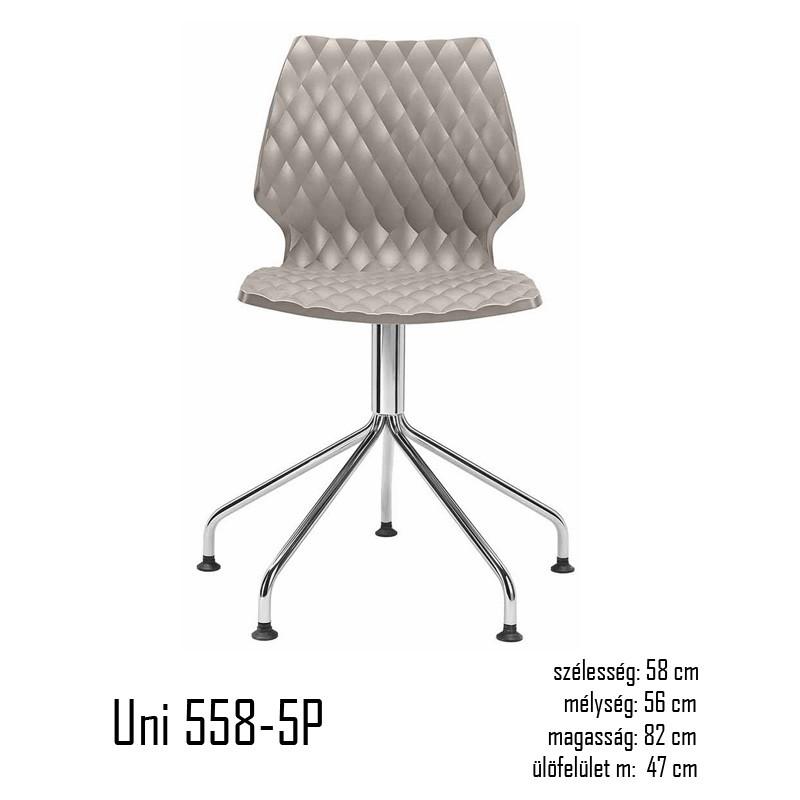040 Uni 558-5P szék