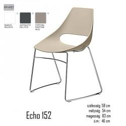 040 Echo 152 szék 03 Műanyag székek Olasz modern stílus