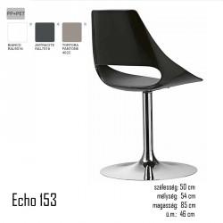 040 Echo 153 forgószék  03 Műanyag székek Olasz modern stílus