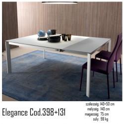 015 Elegance bővíthető étkezőasztal 02 Bővíthető étkezőasztal Olasz modern stílus