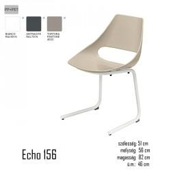 040 Echo 156 szék 03 Műanyag székek Olasz modern stílus