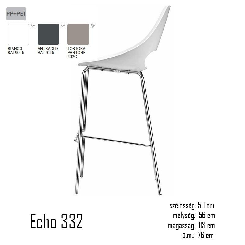 040 Echo 332 bárszék