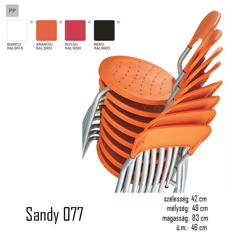040 Sandy 077 szék