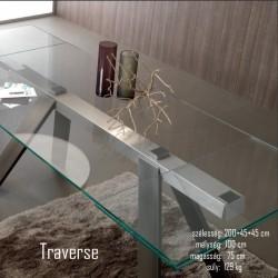 015 Traverse bővíthető étkezőasztal 02 Bővíthető étkezőasztal Olasz modern stílus