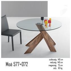 015 Moá kerek asztal 02 Étkezőasztalok Olasz modern stílus
