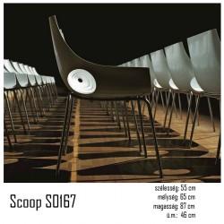 040 Scoop S0167 szék 03 Műanyag székek Olasz modern stílus