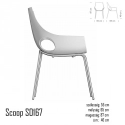 040 Scoop S0167 szék