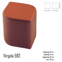 040 Virgola 592 puff 03 Modern stílusok Olasz modern stílus