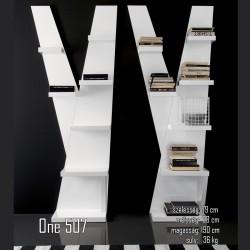015 One könyvespolc 07 Tárolok Olasz modern stílus