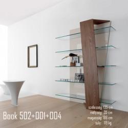 015 Book könyvespolc 07 Tárolok Olasz modern stílus