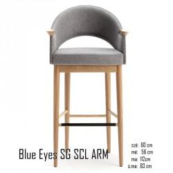 025 Blue Eyes SG SCL ARM bárszék 04 Olasz bárszékek Olasz modern stílus