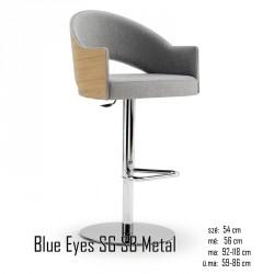 025 Blue Eyes SG SB Metal bárszék 04 Olasz bárszékek Olasz modern stílus