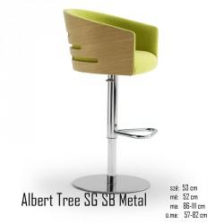 025 Albert Tree SG SB Metal bárszék 04 Olasz bárszékek Olasz modern stílus