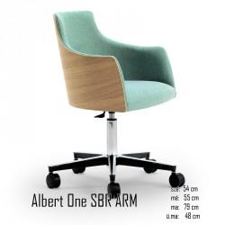 025 Albert One SBR ARM karosszék  05 Ügyfélvárok karosszékek Olasz modern stílus