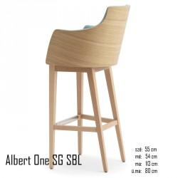 025 Albert One SG SBL bárszék  04 Olasz bárszékek Olasz modern stílus